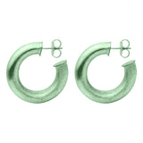 Mint Small Chantal Hoops