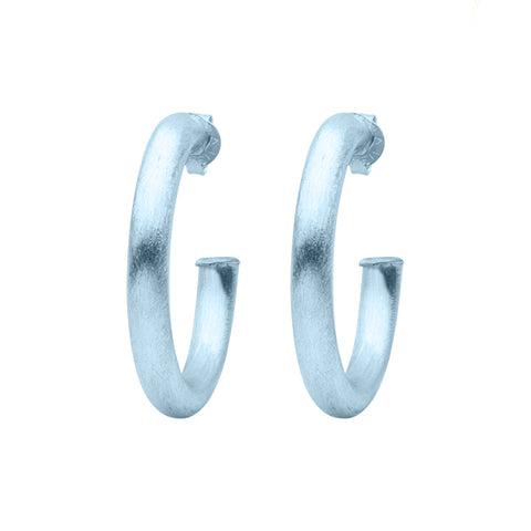 Ice Chantal Hoop Earrings