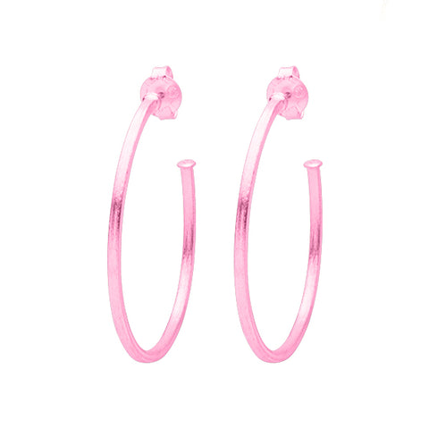 Pink Perfect Hoops