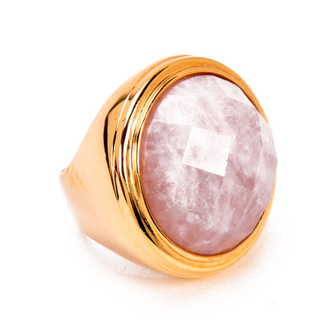 Pink Castle Ring