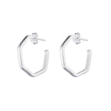 Lure Hoop Earrings
