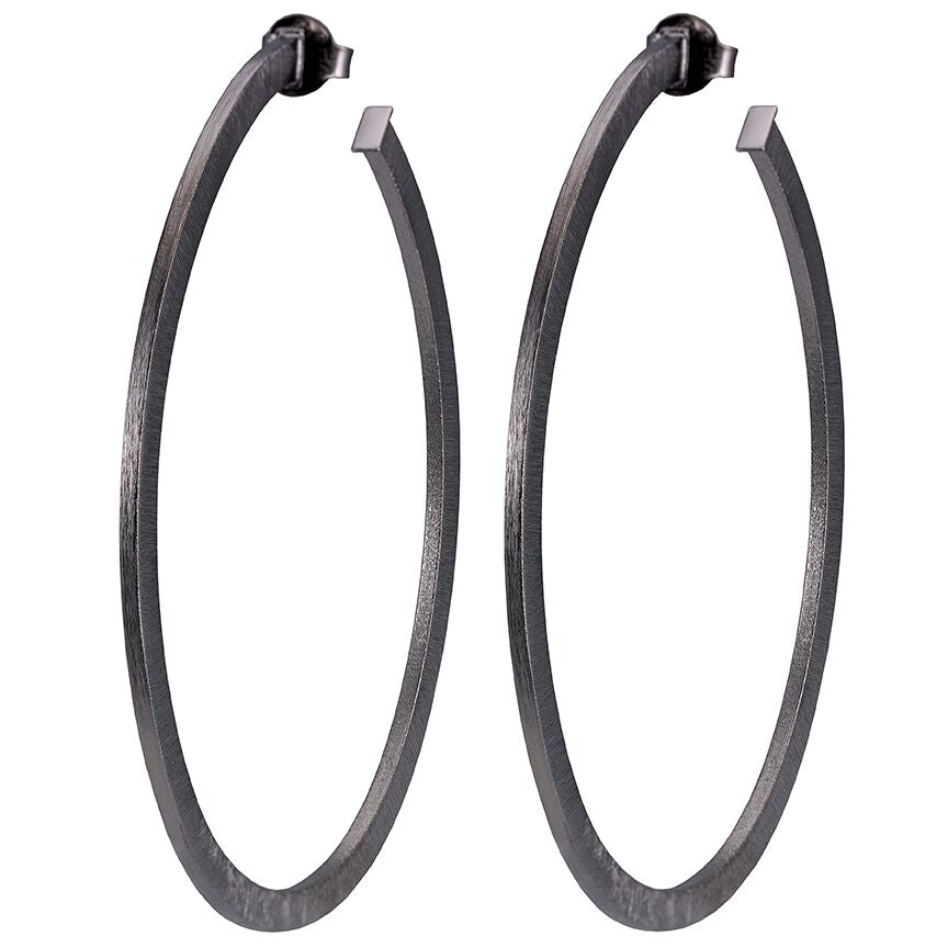 Magnolia Oval Hoops