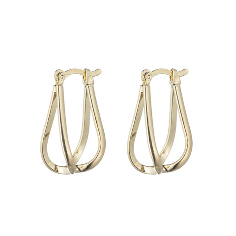 Imperial Hoop Earrings