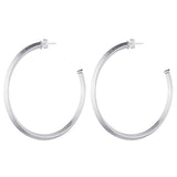 Celine Hoop Earrings (pyramid hoop)