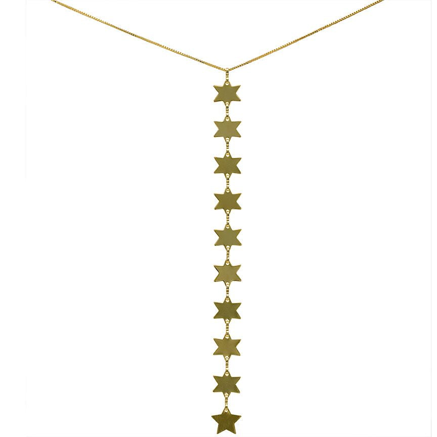 Rigel Star Lariat Necklace