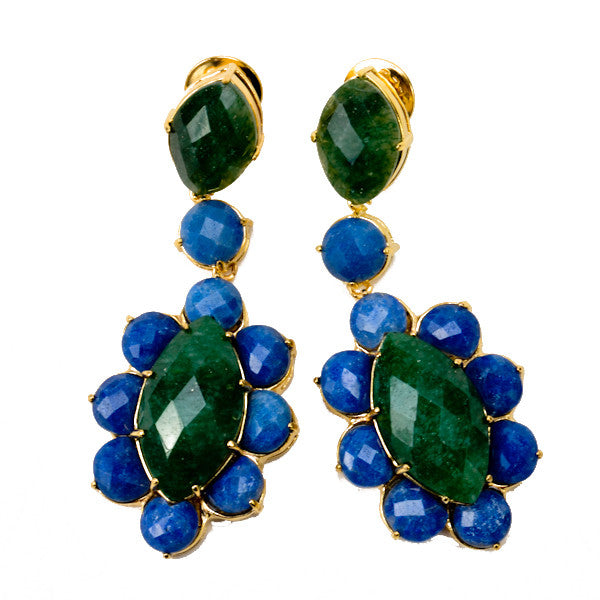 Stunning Large Stone Earring