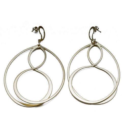 Yin Yang Interlocking Earrings