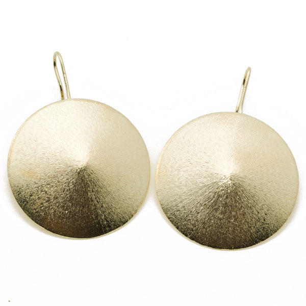 Convex Disks Earrings