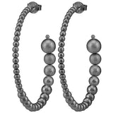 Small Crescent Hoops