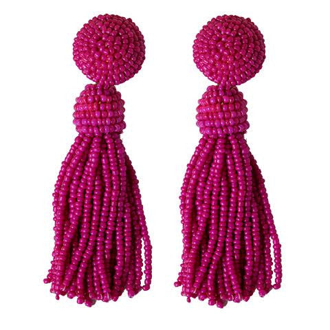 Tess Pink Earrings