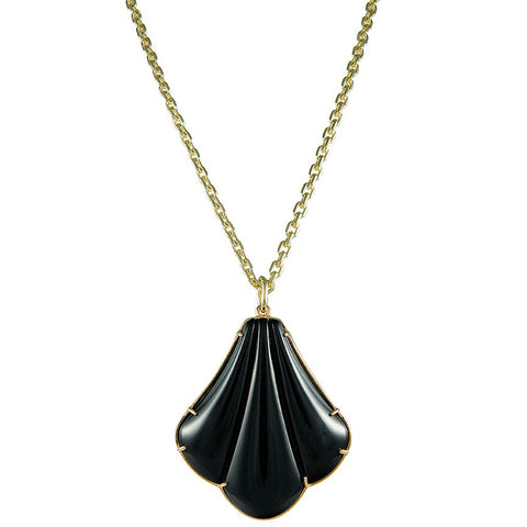 Salvatore Black Necklace
