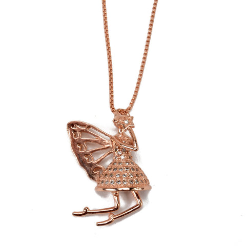 Fairy Pendant With CZs