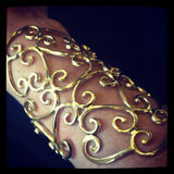 Large Moroccan Look Cuff