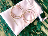 Madrid Frontal Hoop Earrings