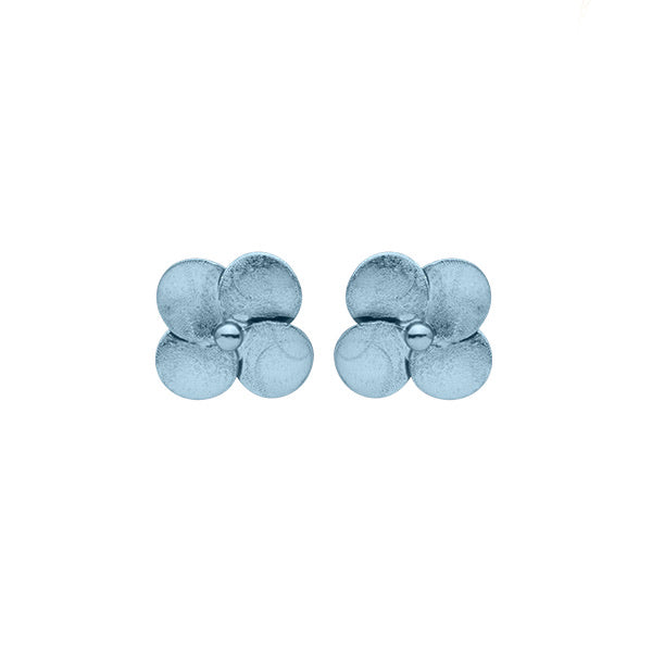 Ice Flower Stud Earrings