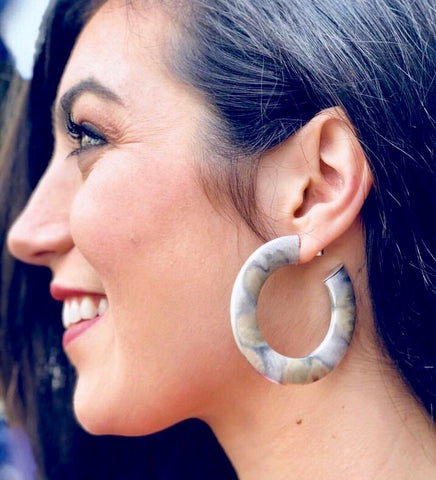 Irene Hoop Earrings