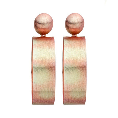 Burnished Red Mini Elizzie Earrings