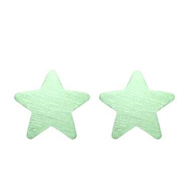 Mint Lana Star Studs