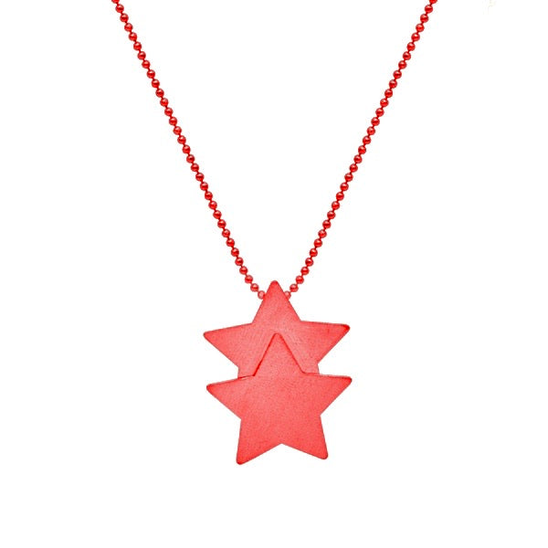 Red Castor Necklace