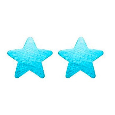 Royal Blue Lana Star Studs