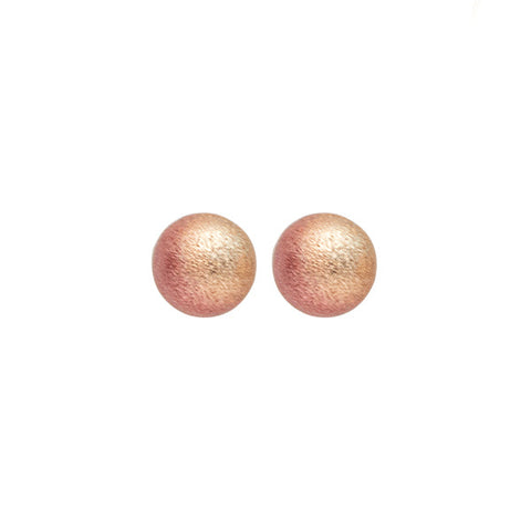Burnished Pink Lilou Stud Earrings