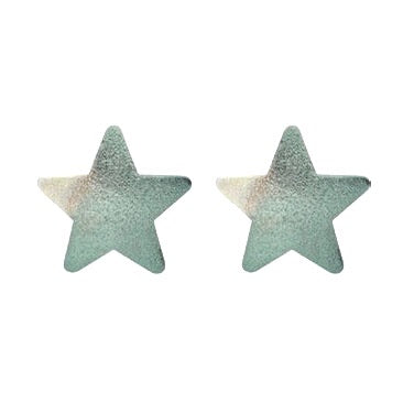 Burnished Ice Lana Star Studs