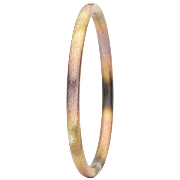 Burnished Lavender Round Bangle