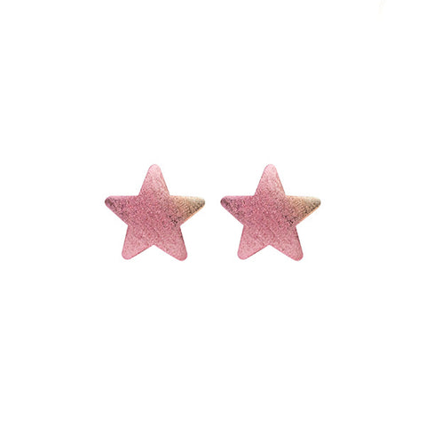 Burnished Lavender Lana Star Studs