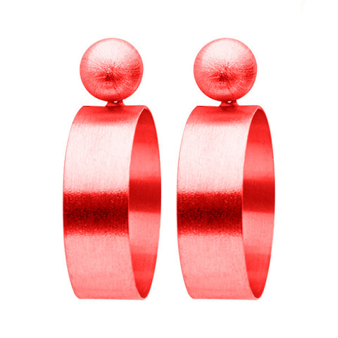Red Mini Elizzie Earrings