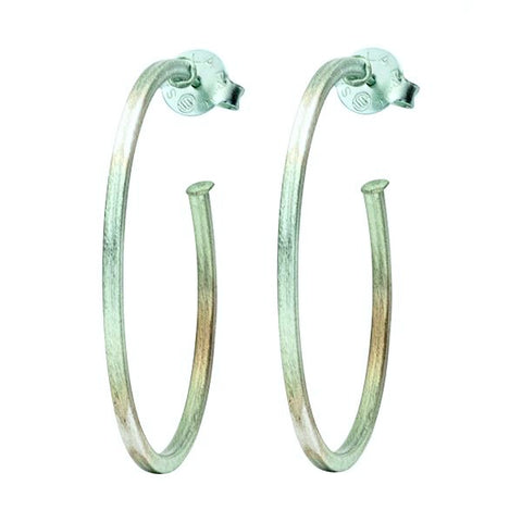 Burnished Ice Perfect Hoops