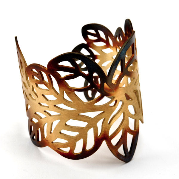 Rusted Leaves Cuff