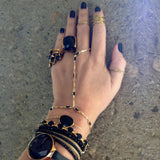 Twisted Band Thumb and Midi Ring