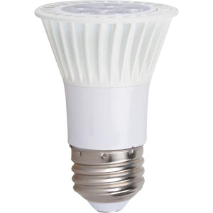 PAR16 7W-420lm, 40 degree beam, 2700K, 80+CRI, E26 base, 120VAC