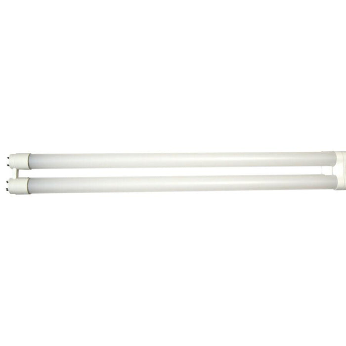 Glass T8 1-5/8 inch UBend DLC 1800lm 11.5W G7 Bi-Pin 3500K 80+CRI Non-Dimmable Direct Replacement