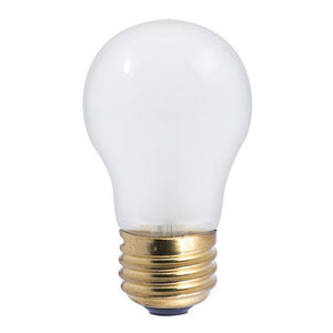 A15 Appliance Incandescent Bulb - E26 Medium Base - 15W, 40W - Satco