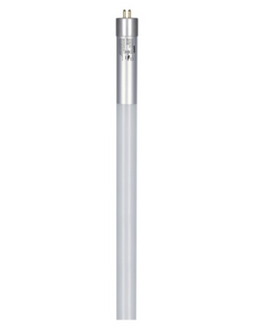 T5 4' High Output Linear Direct Wire Tube LED Bulb - G5 Mini Bi-Pin Base - 25W - SATCO