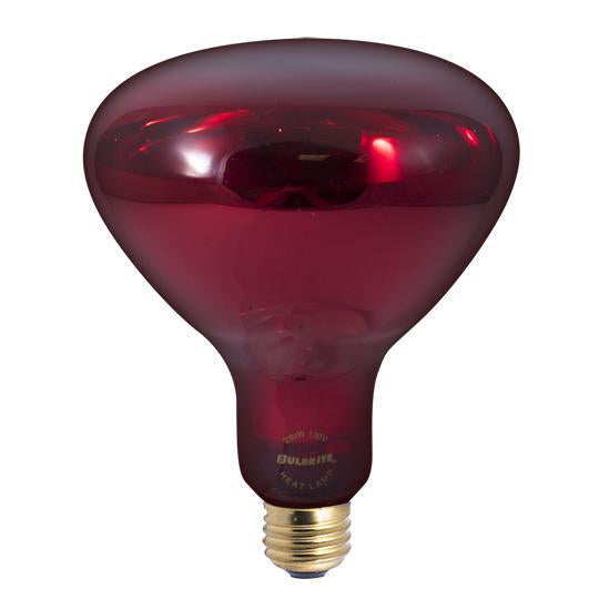 BR40 Heat Lamp Indoor Reflector Incandescent Bulb - E26 Medium Base - 250W - Bulbrite