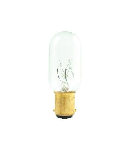 Appliance/Exit Sign Double Contact Incandescent Bulb - BA15d Double Contact DC Bayonet Base- 25W - Bulbrite