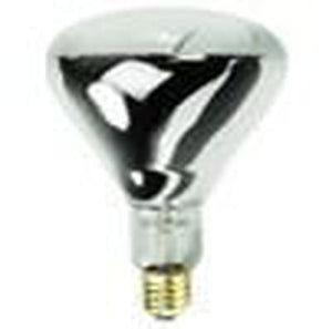 BR40 Heat Lamp Incandescent Bulb - E26 Medium Base - 375W - HALCO