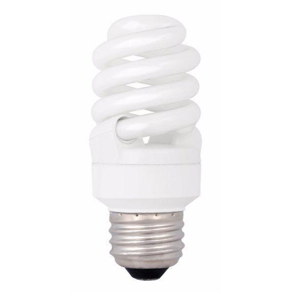 T2 Spring Compact Fluorescent Bulb - E26 Medium Base - 13W - TCP