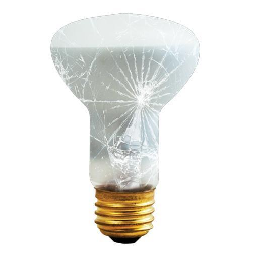 R20 Reflector Flood Indoor Incandescent Bulb - E26 Medium Base - 45W, 50W - Bulbrite
