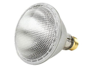 PAR30 40° Flood Long Neck Halogen Bulb - E26 Medium Base - 55W - Plusrite