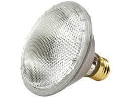 PAR30 40° Flood Short Neck Halogen Bulb - E26 Medium Base - 55W - Plusrite