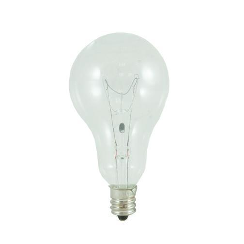 A15 Fan Light Incandescent Bulb - E12 Candelabra Base - 60W - Bulbrite