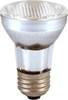PAR16 Ceramic Narrow Flood E39 Halogen Bulb - E26 Medium Base - 60W - SATCO
