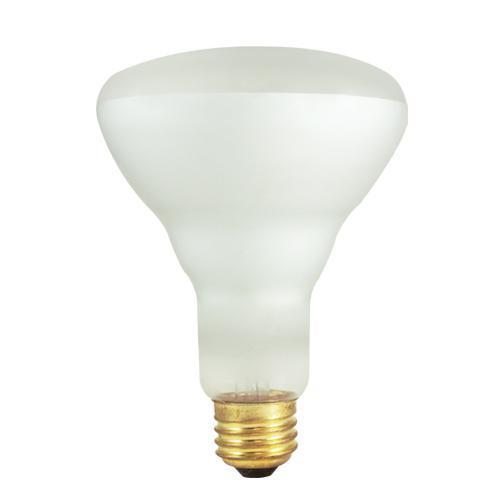 BR30 Reflector Flood Indoor for Recessed Cans Incandescent Bulb - E26 Medium Base - 65W - Bulbrite