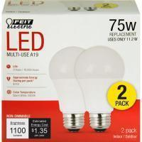 A19 General Purpose LED Bulb - E26 Medium Base - 6W, 11.2W, 14.5W - FEIT