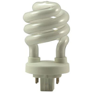 Mini Spiral Twist Compact Fluorescent Bulb - GX24Q-3 Four Pin Base - 26W - EIKO