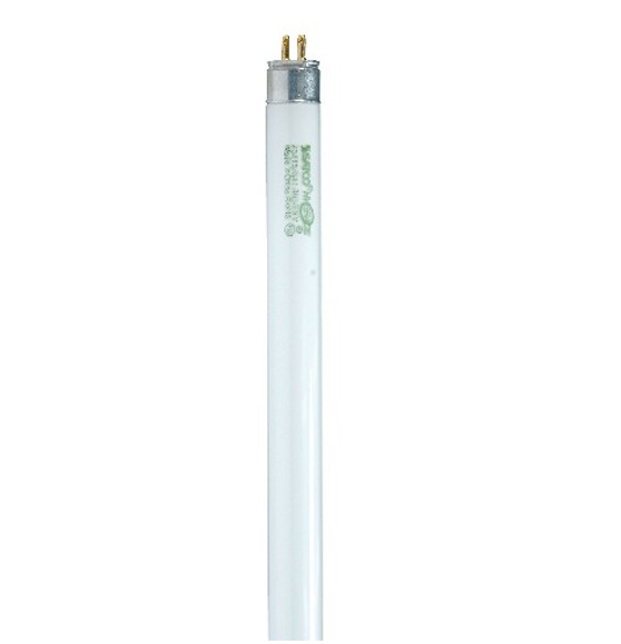 T5 2' High Efficiency Linear Fluorescent Bulb - G5 Mini Bi-Pin Base - 24W - SATCO