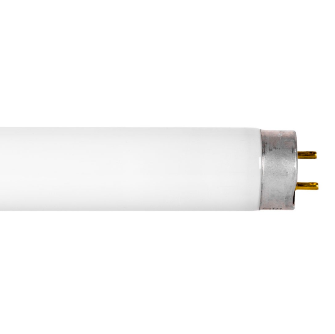 T8 4' Instant or Rapid Start Linear Fluorescent Bulb - G13 Bi-Pin Base - 32W - GE